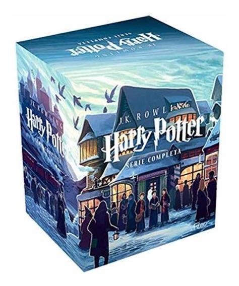 Box Coleção Harry Potter Ed De Luxo Caixa (7 Volumes)