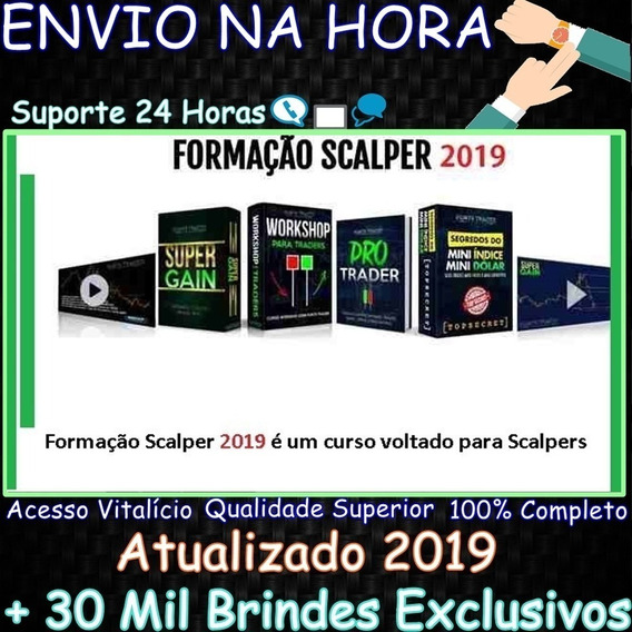 Formação Scalper 2019 - Ports Trader + Brindes