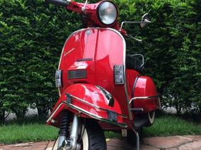 Vespa Px200e 1986 Placa Preta