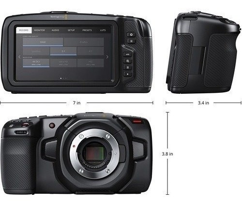 Blackmagic Pocket Camera 4k - Pronta Entrega