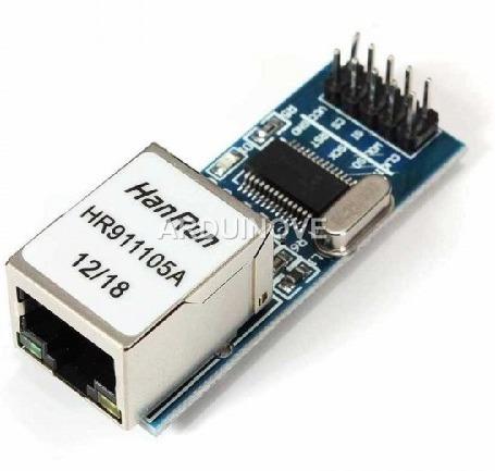 Imagen 1 de 2 de Modulo Ethernet Mini Enc28j60