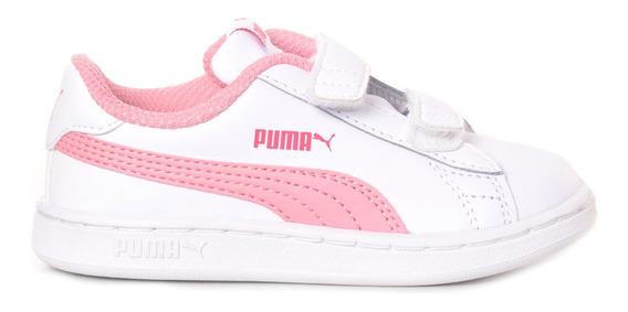 Zapatillas Puma Smash V2 L Inf Adp Niño