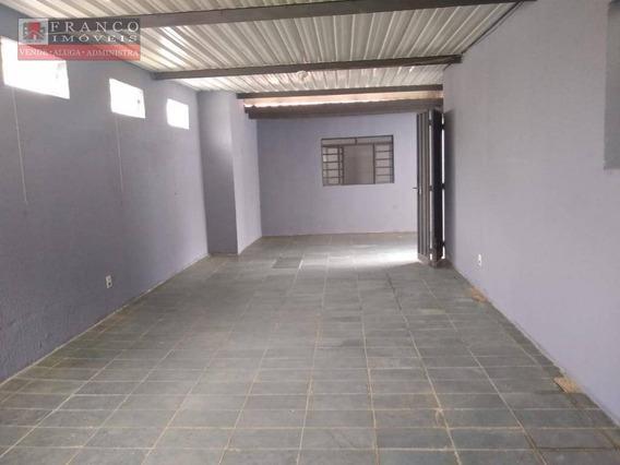 Salão Para Alugar, 120 M² Por R$ 1.700/mês - Jardim Pinheiros - Valinhos/sp - Sl0057