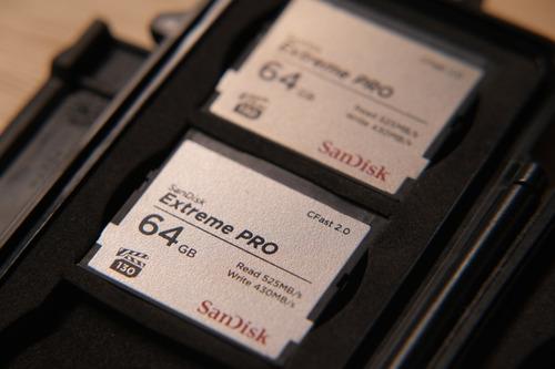 Cartão De Memória Cfast 2.0 64gb Sandisk Extreme Pro