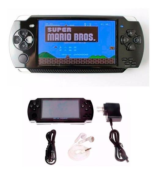 Video Game Portátil 10mil Jogos Player Mp3 Mp4 Mp5 + Frete