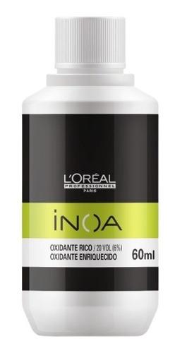 Imagem 1 de 3 de Loreal Professionnel Inoa Ox 60ml Oxidante 20 Volumes 6%