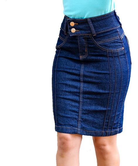 Kit 10 Saias Jeans Roupas Femininas 36 Ao 46 Atacado