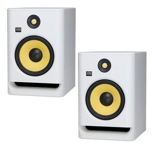 Krk Rokit 5 G4 White Monitores De Estudio / Par Blancos