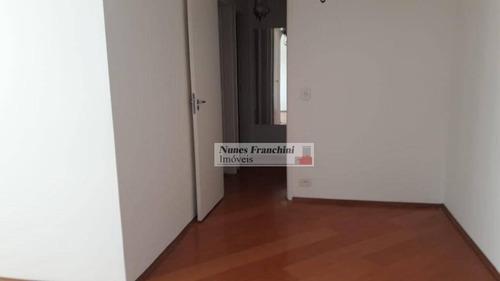 Apartamento Com 2 Dormitórios À Venda, 67 M² Por R$ 630.000,00 - Pompeia - São Paulo/sp - Ap7544