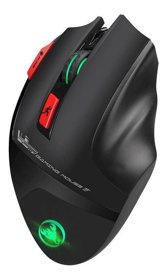 Hxsj T88 Gaming Mouse Sem Fio Recarregvel 7 Chave Design