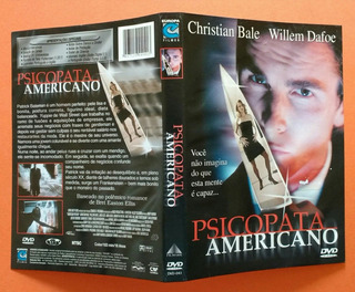 Dvd Psicopata Americano - Christian Bale - Willem Dafoe