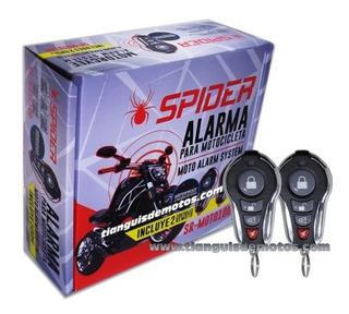 Alarma Para Motocicleta Spider Antirobo Sensor De Golpe