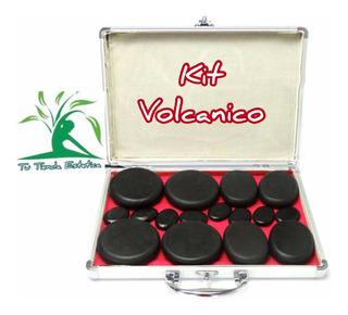 Kit De Piedras Volcánicas Con Calentador