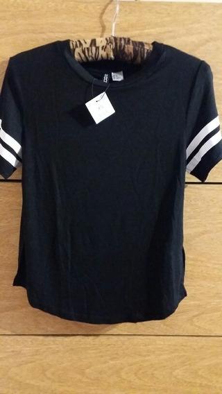 Remera Camiseta Mujer Importada Talle Xs