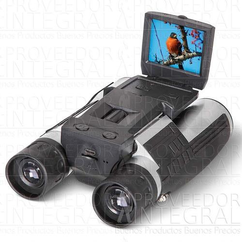 Binoculares 12x32 Con Camara Pantalla Lcd 1080p Full Hd 5mp