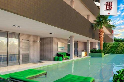Imagem 1 de 30 de Edifício Studio Design Apartamento 1 Quarto E Sala Na Ponta Verde - Ap0021