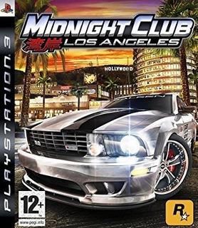 Midnight Club Los Angeles Ps3 Digital Torrbian Gamestore