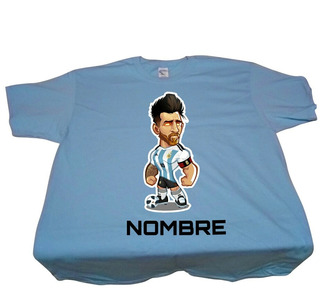 Playera Personalizada Messi