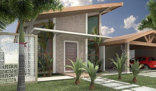 Imagem 1 de 9 de Casa Em Condominio Caçapava - Ca1005