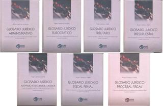 Libros Glosarios Jurídicos Temáticos Administrativo Y Fiscal