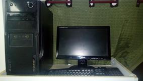 Pc Completo, Monitor 15 , Hd 80 Gb, Memória Ram 4 Gb