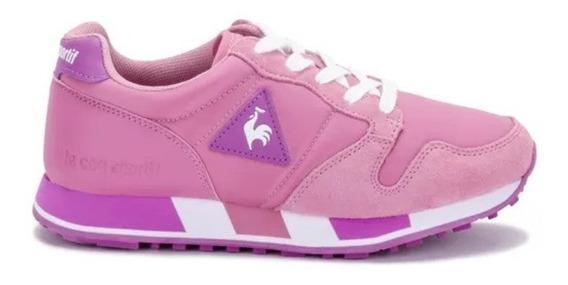 Zapatillas Moda Mujer Lecoq Urbanas - Omega Nylon Pink