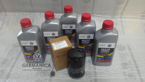 Kit Revisão Troca Oleo 508 Jetta Bora Golf New Beetle Polo 2.0 Audi
