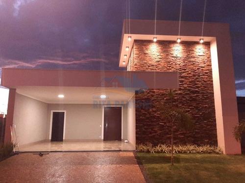 Casa Condominio, Vila Do Golf, Ribeirão Preto - C4627-v