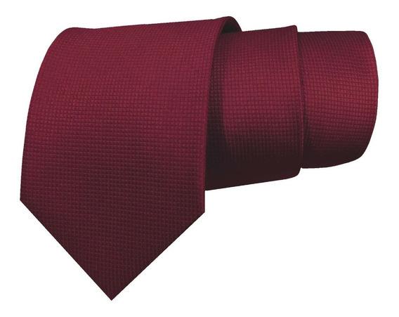 Corbata Color Vino Tinto Para Caballero Sp0031