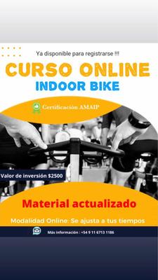 Curso Online Indoor Bike