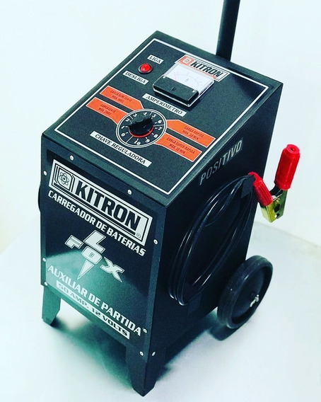 Carregador De Bateria Profissional 50 Amperes