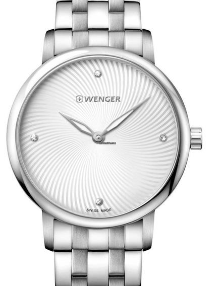 Relógio Wenger Urban Donnissima Prata 01.1721.109 C/ N F
