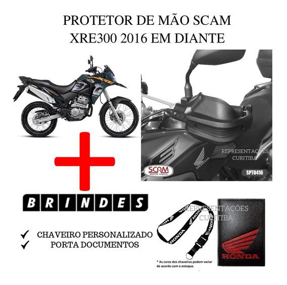Protetor De Mao Spto416 Scam Honda Xre300 2016+