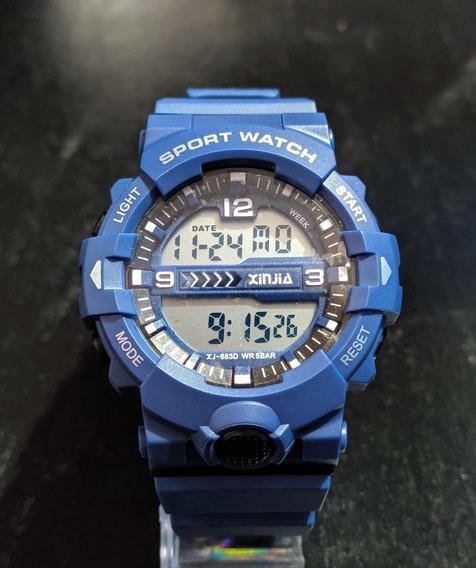 Relógio Masculino Xinjia Resistente A Água
