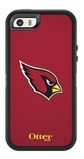 Funda iPhone 5 5s Se Otterbox Defender Edicion Nfl Cardenales De San Luis Original Rudo Mica Clip