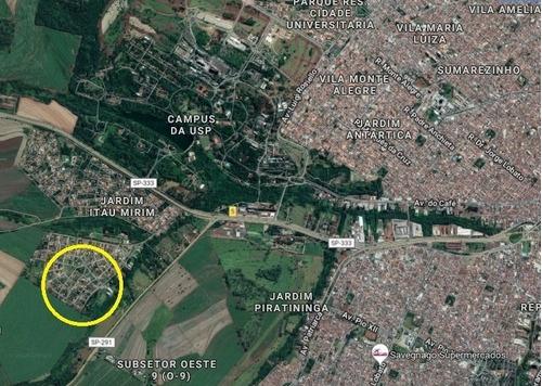 Ótimo Terreno Para Venda No Jardim Itau, Com 580 M2, Proximo A Usp E Ao Jardim Recreio - Te00289 - 34381266