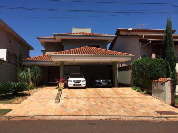 Casa De Condomínio Com 3 Dorms, Jardim Nova Aliança Sul, Ribeirão Preto - R$ 1.090.000,00, 249m² - Codigo: 1721956 - V1721956