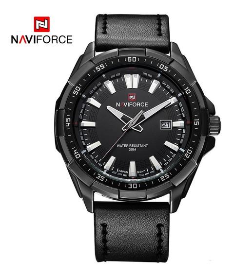 Relógio Masculino Naviforce 9056 Preto Frete Grátis Original