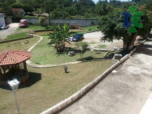 Chácara Com 4 Dormitórios À Venda, 7000 M² Por R$ 1.600.000 - Chácaras Reunidas Igarapés - Jacareí/sp - Ch0005