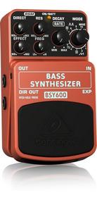 Pedal De Efeito Sintetizador Para Baixo Behringer Bsy600