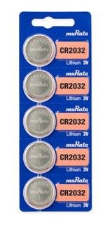 Pilas Sony Murata Cr 2032 5u Original Balanzas Distribuidor