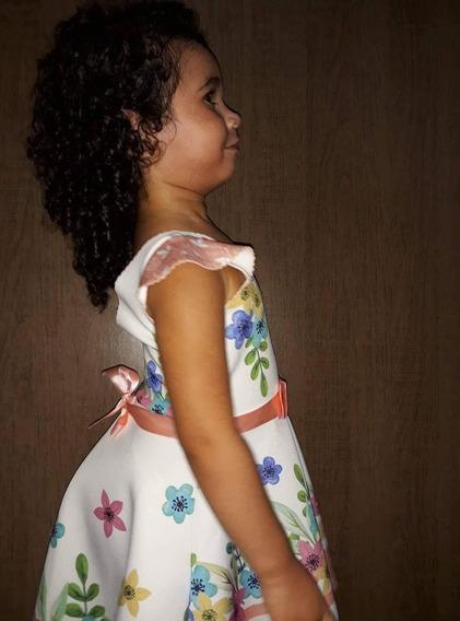 Vestidos Infatil Para Criança De 2/4/6 Peça Ja O Seu!