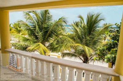 Vendo Hermosa Casa Amueblada Frente A La Playa