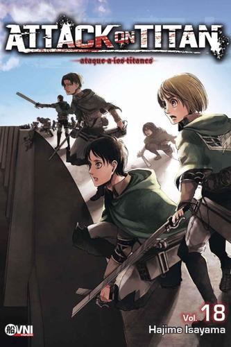 Imagen 1 de 5 de Manga, Kodansha, Attack On Titan Vol. 18 Ovni Press