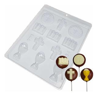 Forma Para Chocolate Primeira Comunhão Ref. 1364 - 5 Formas