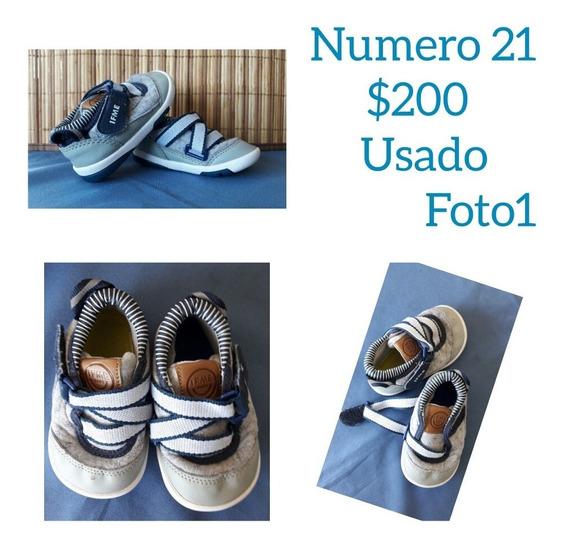 Zapatillas Para Niños Talles 21/22/23