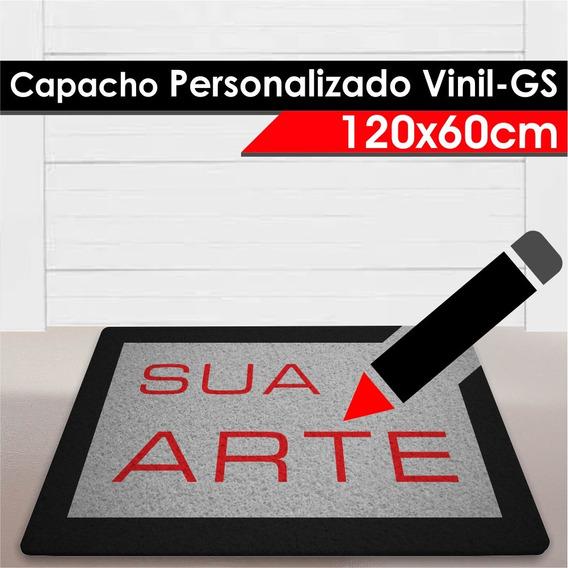 Tapete Capacho Personalizado Vinil-gs - 120x60cm