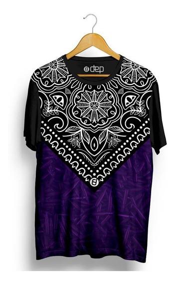Camiseta Dep Bandana Roxa