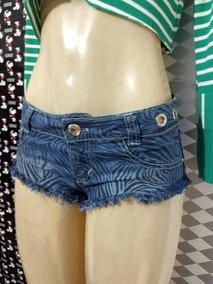 Micro Short Jeans Sex 16/36/38 Sensual Poupa Da Bunda Shorte