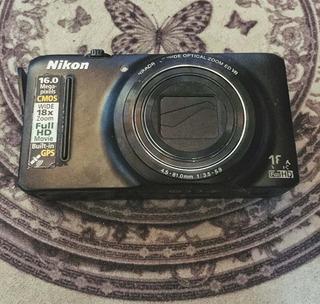 Cámara Fotográfica Nikon Coolpix S9300